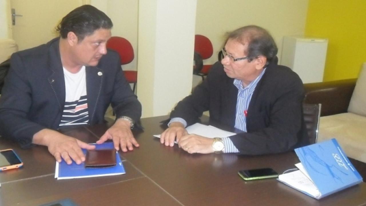 Presidente do CRA-RO se reúne com o vice-prefeito de Porto Velho