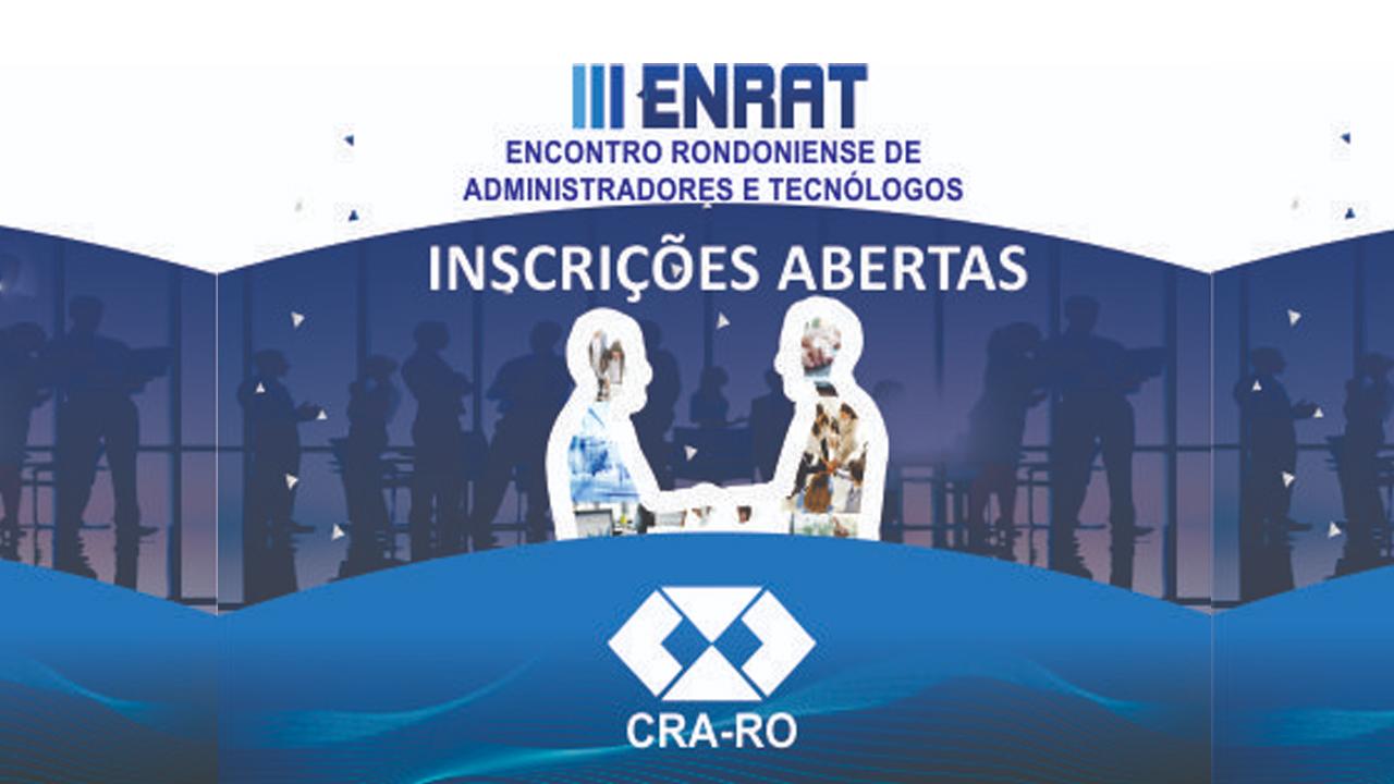 Abertas as inscrições para o III ENRAT