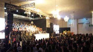 Presidente do CRA-RO prestigia cerimônia de outorga de grau na Faro