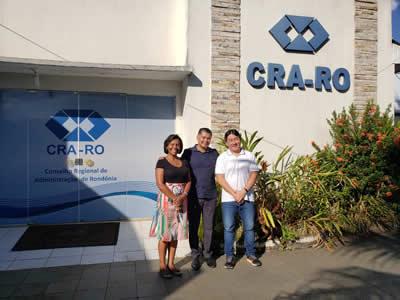 Consultor da Faculdade Sapiens visita o CRA-RO