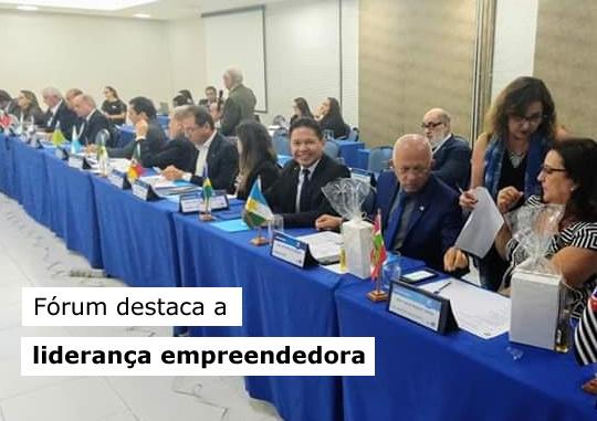 Vice-Presidente do CRA-RO participa do Fórum Internacional de Administração