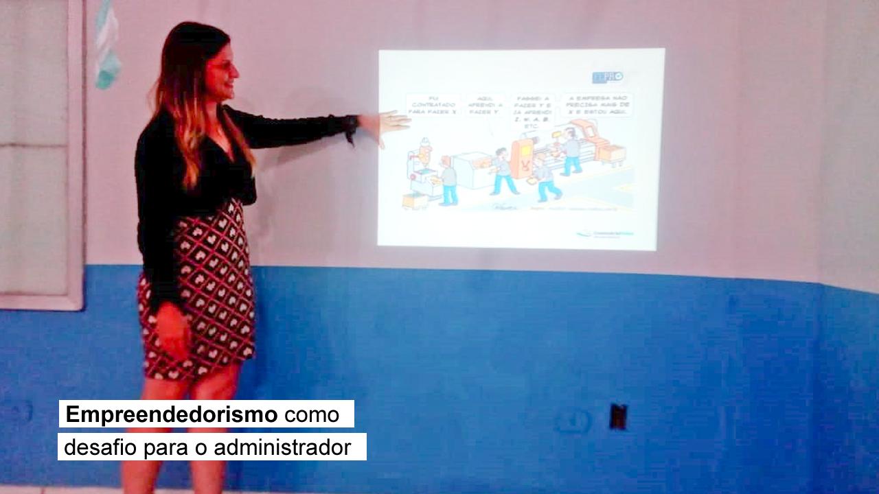 Regional participa de evento na Faculdade Cruzeiro do Sul em Cujubim