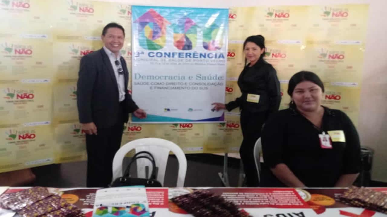 CRA-RO prestigia conferência municipal de saúde