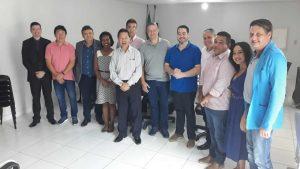 Presidente e vice da Jucer visitam o CRA-RO