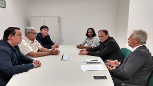 Presidente do CRA-RO participa de reunião com superintendente do Banco da Amazônia