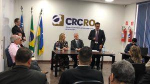 Presidente do CRC-RO destaca parceria do CRA-RO