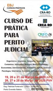 Novas turmas para curso de perícia judicial