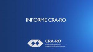 INFORME CRA-RO