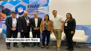 Equipe do CRA-RO participa do Enaf 2020
