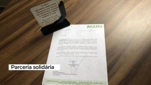 ACIJ destaca parceria do CRA-RO em ação de cunho social