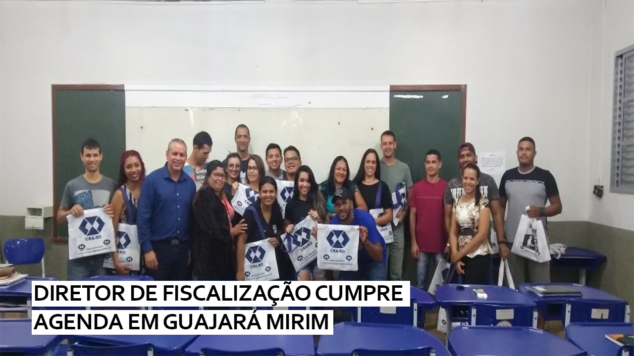 Diretor de fiscalização cumpre agenda em Guajará Mirim