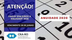 Resolução Normativa do CFA adia vencimento das anuidades