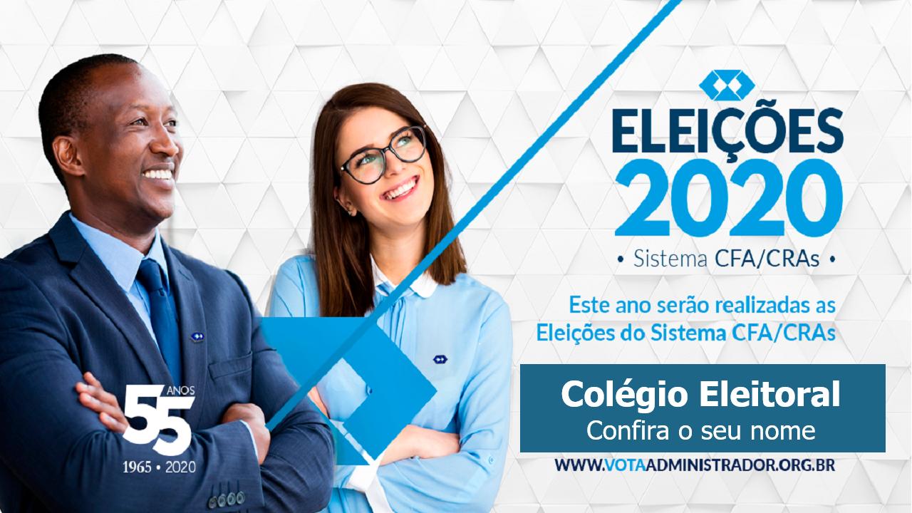 CRA-RO divulga relação preliminar do Colégio Eleitoral