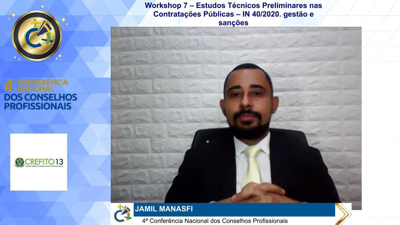 Administrador ministra workshop em evento nacional de conselhos profissionais