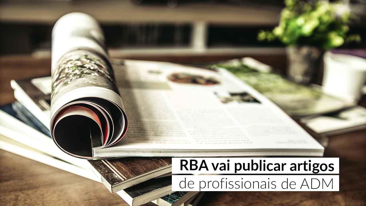 Notícia CFA – Serão aceitos artigos de opinião relacionada à ciência da Administração