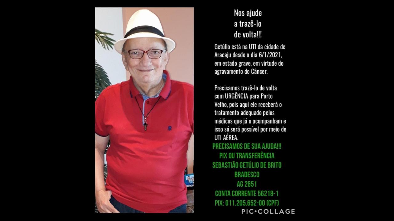 Apoio ao Adm. Sebastião Getúlio de Brito