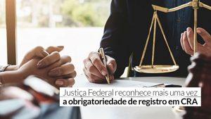 Fiscalização do CRA-DF vence batalha judicial