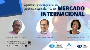 Vamos conversar sobre as oportunidades para os profissionais de Rondônia no Mercado Internacional?