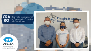 CRA-RO faz visita institucional à Faculdade Cruzeiro do Sul-Virtual